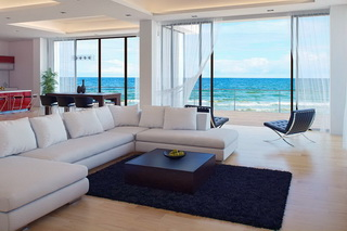 Фото дома на берегу моря